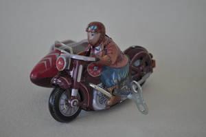 MOTORCYKEL/Sidovagn