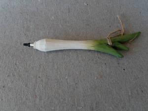 Grönsakspenna/Purjolök