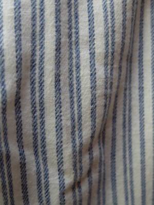 Pyjamas/2 delar/Blå-Vit randig