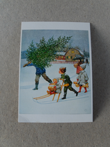 Julkort/Elsa Beskow/Spark&Gran