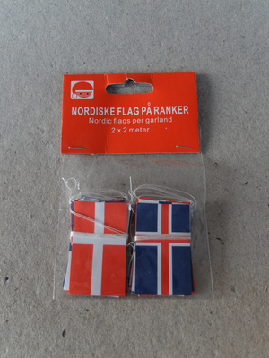 Julgransflaggor