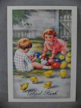 Påskkort-Barn
