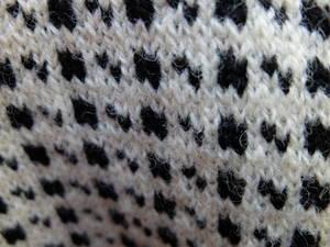 Tröja/Vit/Svart mönster