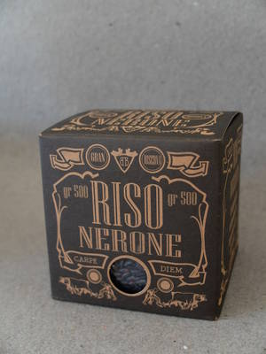 Svart ris/Ekologiskt/Riso Nerone
