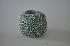 SNÖRE/Jute grön