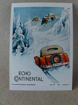 Julkort/Echo Continental