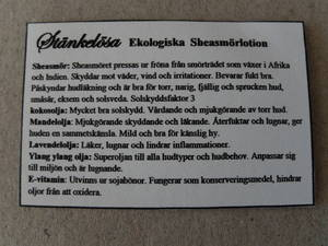 Sheasmörlotion