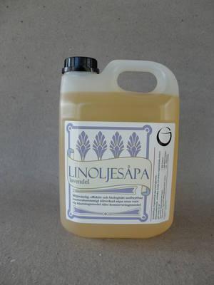 Linoljesåpa/Lavendel/2,5 liter