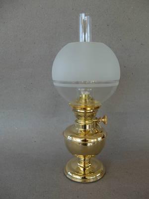 Fotogenlampa/Mässing
