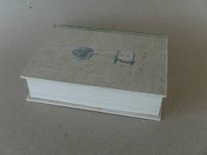 Boklåda/vit/grön/Liten