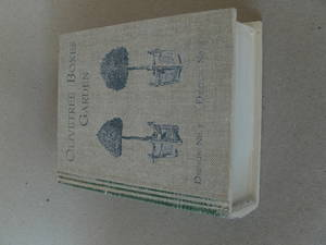 Boklåda/vit/grön/Stor