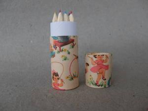 Färgpennor-Barn