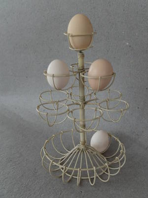 Äggställ/10 ägg plus skål