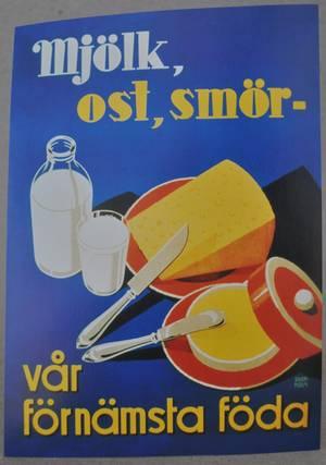 VYKORT/MJÖLK,OST,SMÖR