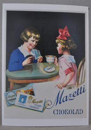 VYKORT/MAZETTI CHOKLAD